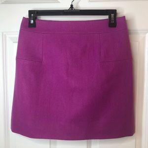 J. Crew Classic Mini Felted Wool Skirt Size 2